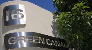 Entrada Villa Green Canal en Nuevo Vallarta