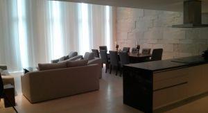 Sala y comedor Condominio Peninsula en Nuevo Vallarta