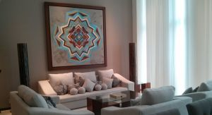 Sala Penthouse Condominio Peninsula en Nuevo Vallarta