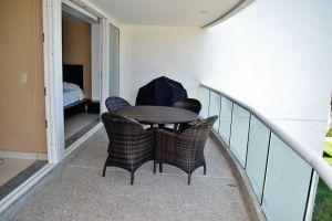 Terraza con muebles Condominio Villa Magna Nuevo Vallarta