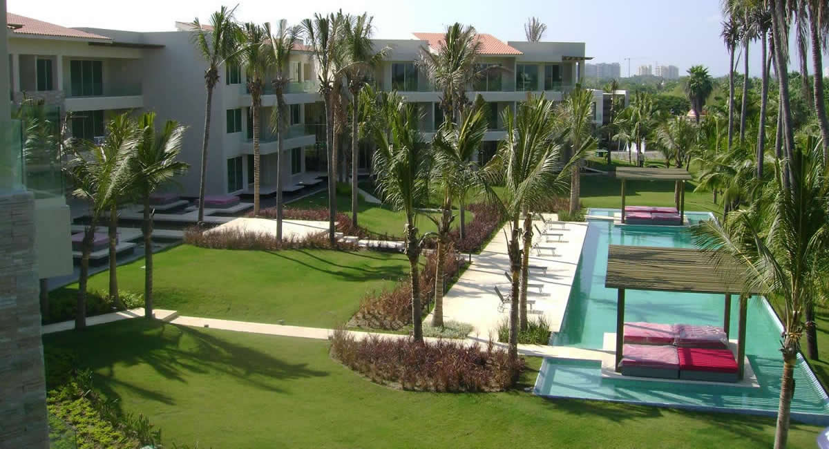 Condominio Peninsula Golf en Nuevo Vallarta