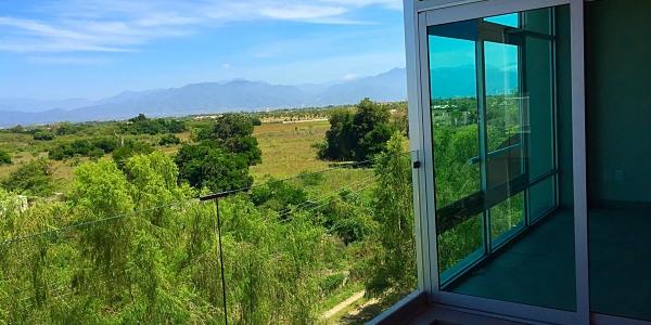 Vista ventana Condominio 3.14 en Nuevo Vallarta 1 recámara