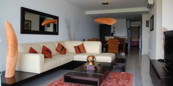 Sala Condominio Villa Magna Nuevo Vallarta Unidad 263a